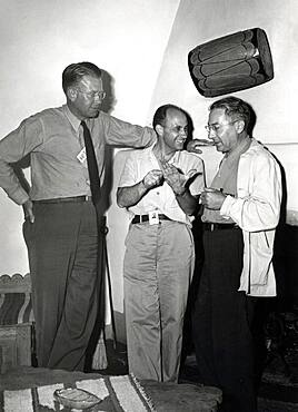 Lawrence, Fermi and Rabi, Physicists