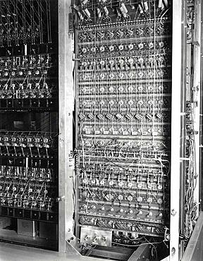 MANIAC-II, Vacuum Tube Computer, 1957