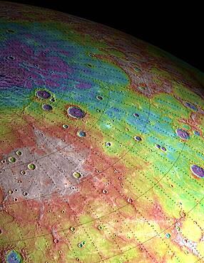 Mercury, Goethe Basin