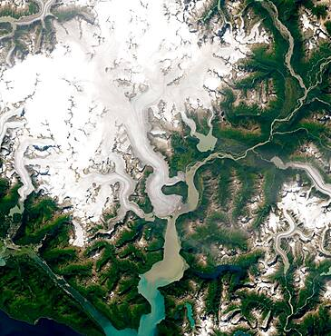 Taku Glacier Retreating (2 of 2)