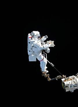 Astronaut Luca Parmitano Spacewalk, 2019