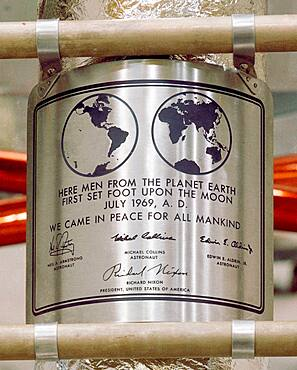 Apollo 11, We Came In Peace for All Mankind, 1969