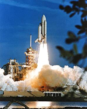 STS-1, Space Shuttle Columbia Launch, 1981