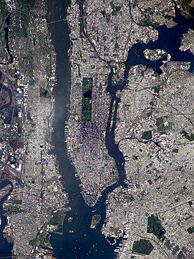 New York City, Satellite Image