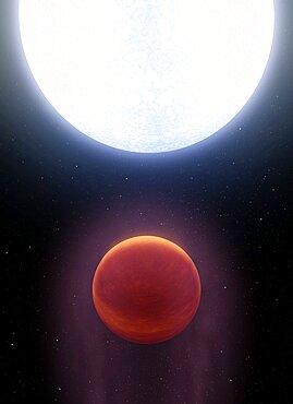 Kelt-9b, Hottest Exoplanet