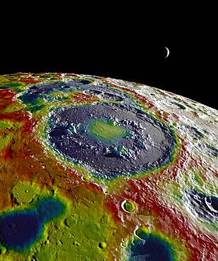 Gravity Map of The Moon