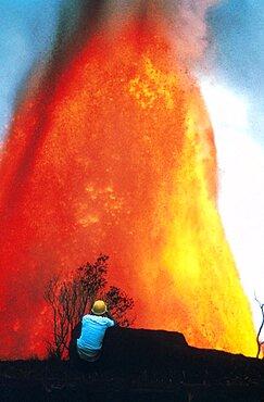 Lava Fountain, 1969