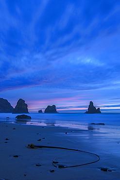 Dawn at China Beach, Samuel H. Boardman State Scenic Corridor, Southern Oregon Coast.