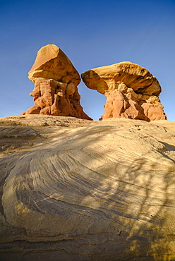 Hoodoos in the Devil's Garden at Grand Staircase - Escalante National Monument, Utah.