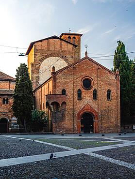 Santo Stefano's Church in Piazza Santo Stefano, Bologna, Emilia Romagna, Italy, Europe
