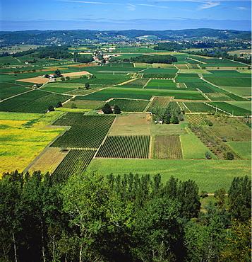 Rural Landscape, Dordogne, Aquitaine, France