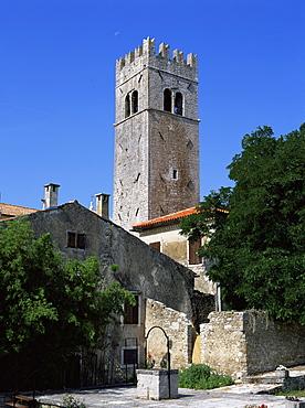 St. Stephen's church, Motovun, Istria district, Croatia, Europe