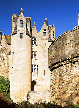Chateau Montreuil Bellay, Anjou, Centre, France, Europe