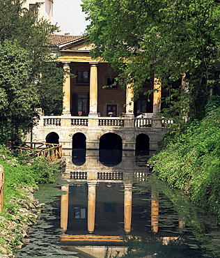 Loggia Valmarana, Vicenza, Veneto, Italy, Europe