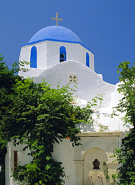 Church, Paroikia, Paros, Cyclades Islands, Greece, Europe