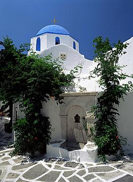 Paroikia church, Paros, Cyclades, Greek Islands, Greece, Europe