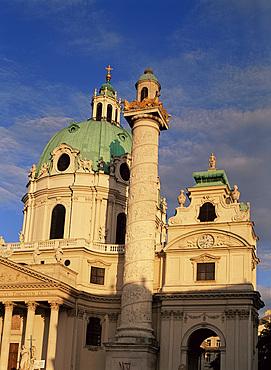 Karlskirche, Vienna, Austria, Europe