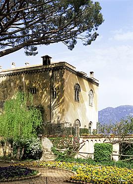 Garden of the Villa Cimbrone, Ravello, Amalfi Coast, Campania, Italy, Europe