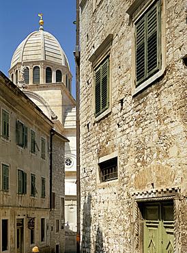 St. Jacob's cathedral, Sibenik, Croatia, Europe