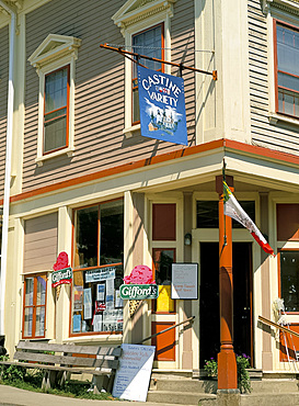 General store in Castine, Maine, New England, United States of America, North America