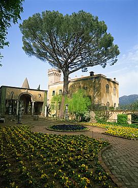 Villa Cimbrone, Ravello, Campania, Italy, Europe