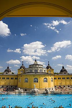 The Szechenyi Baths, Budapest, Hungary, Europe