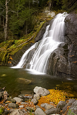 Moss Glen Falls in Granville, Vermont, New England, United States of America, North America