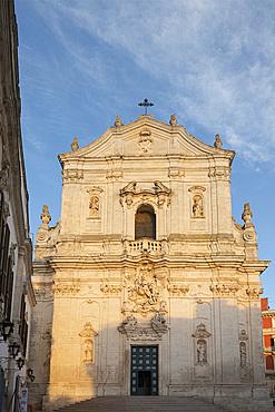 Basilica di San Martino in the Centro Storico, Martina Franca, Puglia, Italy, Europe
