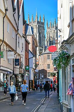 Petergate, York, Yorkshire, England, United Kingdom, Europe