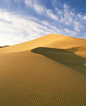 Sand dunes, Grand Erg Occidental, Sahara Desert, Algeria, North Africa, Africa