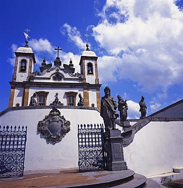 Basilica do Bom Jesus de Matosinhos, Congonhas, Minas Gerais, Brazil