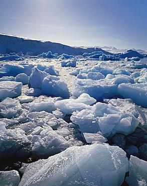 Ice on Antartica, Close Up