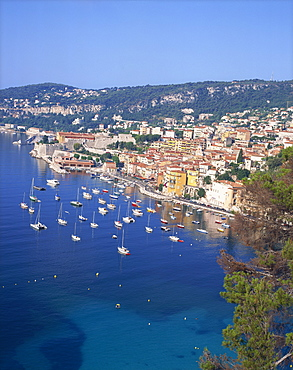 Villefranche, Alpes-Maritimes, Cote d'Azur, French Riviera, Provence, France, Mediterranean, Europe