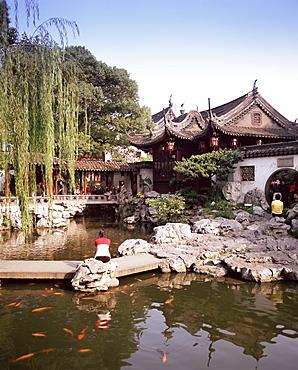 Yuyuan Gardens (Yu Gardens), Yuyuan Shangsha, Shanghai, China, Asia