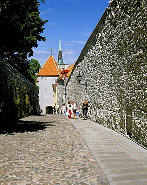 Old Town, UNESCO World Heritage Site, Tallinn, Estonia, Baltic States, Europe