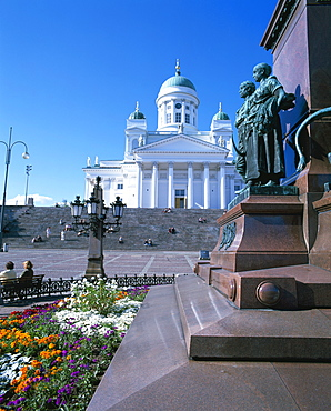 Lutheran Christian cathedral, Helsinki, Finland, Scandinavia, Europe