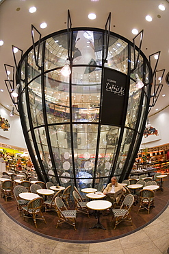 Berlin Mitte, Friedrichstrasse, Galeries Lafayette, luxury shopping centre for fashion and food, Berlin, Germany, Europe