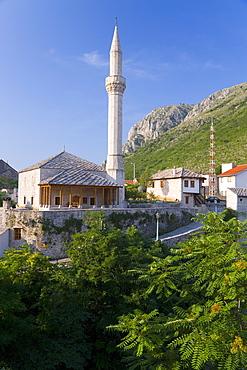 Mosque, Old Town, Mostar, Herzegovina, Bosnia Herzegovina, Europe