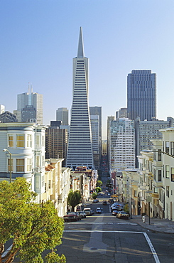 TransAmerica Pyramid, San Francisco, California, USA, North America