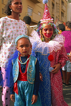 Mardi Gras festival, Mindelo City, Sao Vicente Island, Cape Verde Islands, Africa
