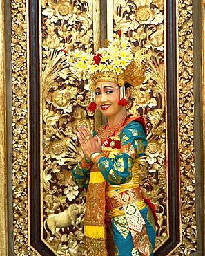 Legong dancer, Bali, Indonesia, Southeast Asia, Asia