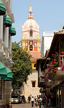 Cathedral Basilica of Saint Catherine of Alexandria, Cartagena, Colombia, South America - 29-5603