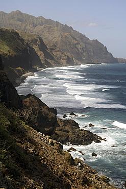 North coast, Santo Antao, Cape Verde Islands, Atlantic, Africa