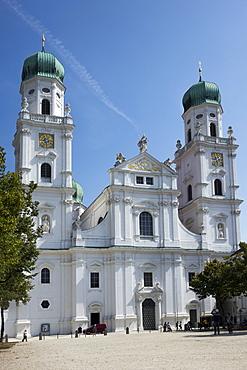 St. Stephens Cathedral, Passau, Lower Bavaria, Germany, Europe
