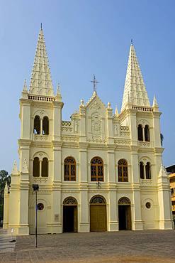 Santa Cruz cathedral, Cochin, Kerala, India, Asia