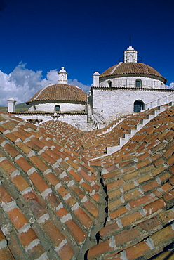 Roof top view, Convent of San Francisco, Potosi, Bolivia, South America