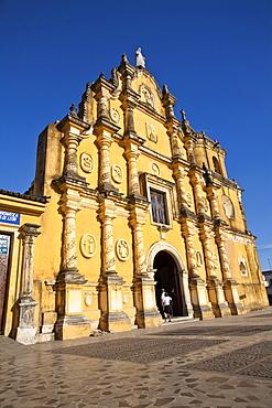 Iglesia De La Recoleccion, Leon, Nicaragua, Central America