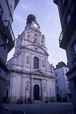 Church of Sainte Croix, Nantes, Pays de la Loire, Loire Atlantique, France, Europe