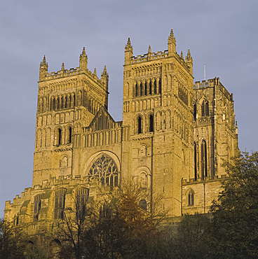 Durham Cathedral, dating from Norman times, UNESCO World Heritage Site, Durham, England, UK, Europe
