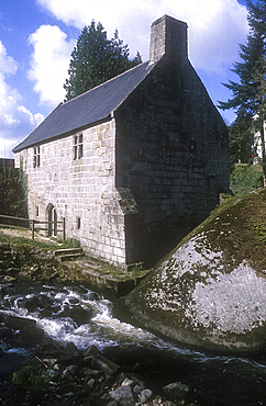 Huelgoat, Brittany, France *** Local Caption ***